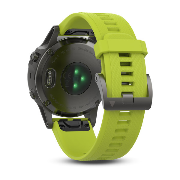 Sporttester Garmin Fenix 5 Gray Optic Yellow Band